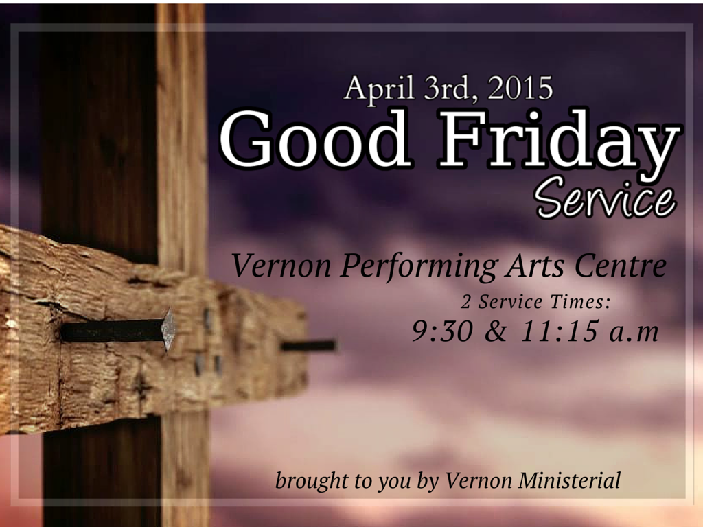 Good Friday Vernon 2015